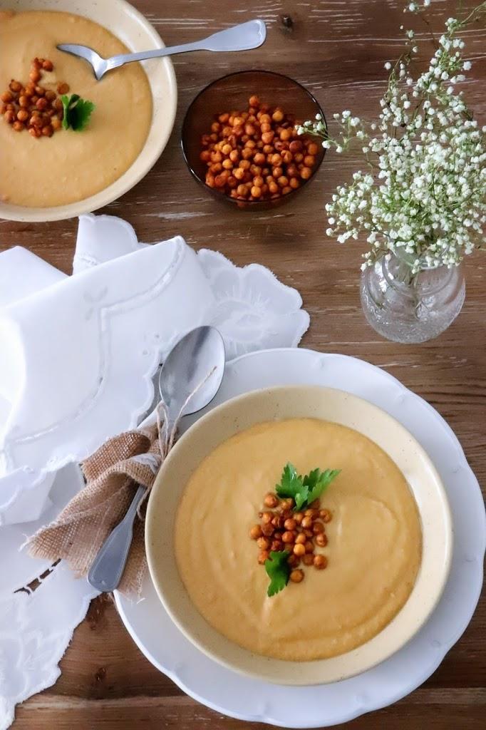 Batátová krémová polievka