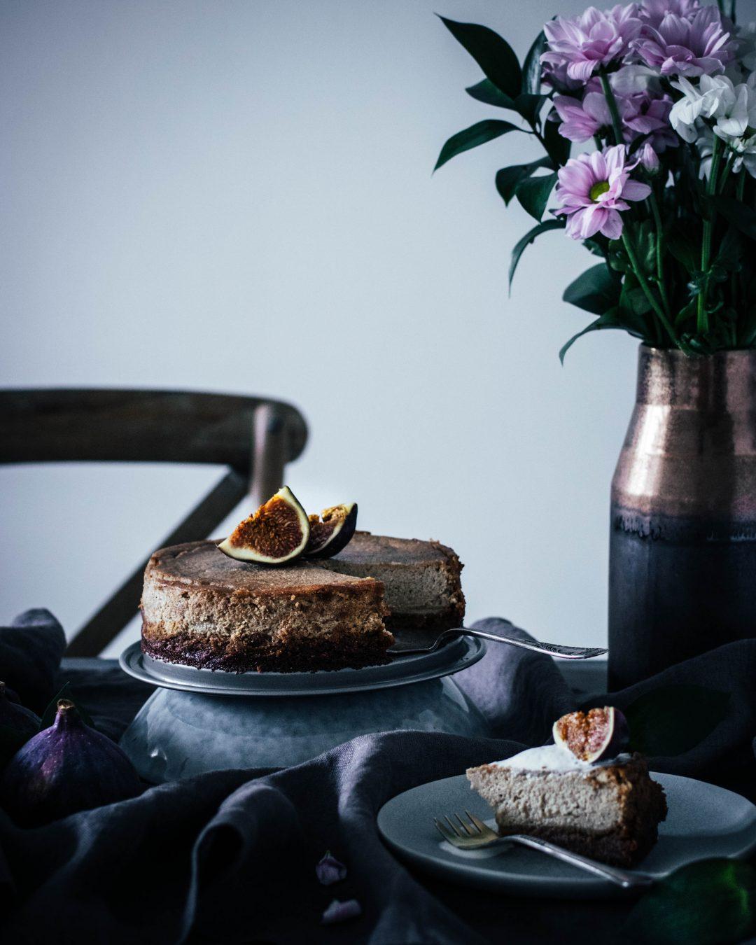 Vegansky cheesecake