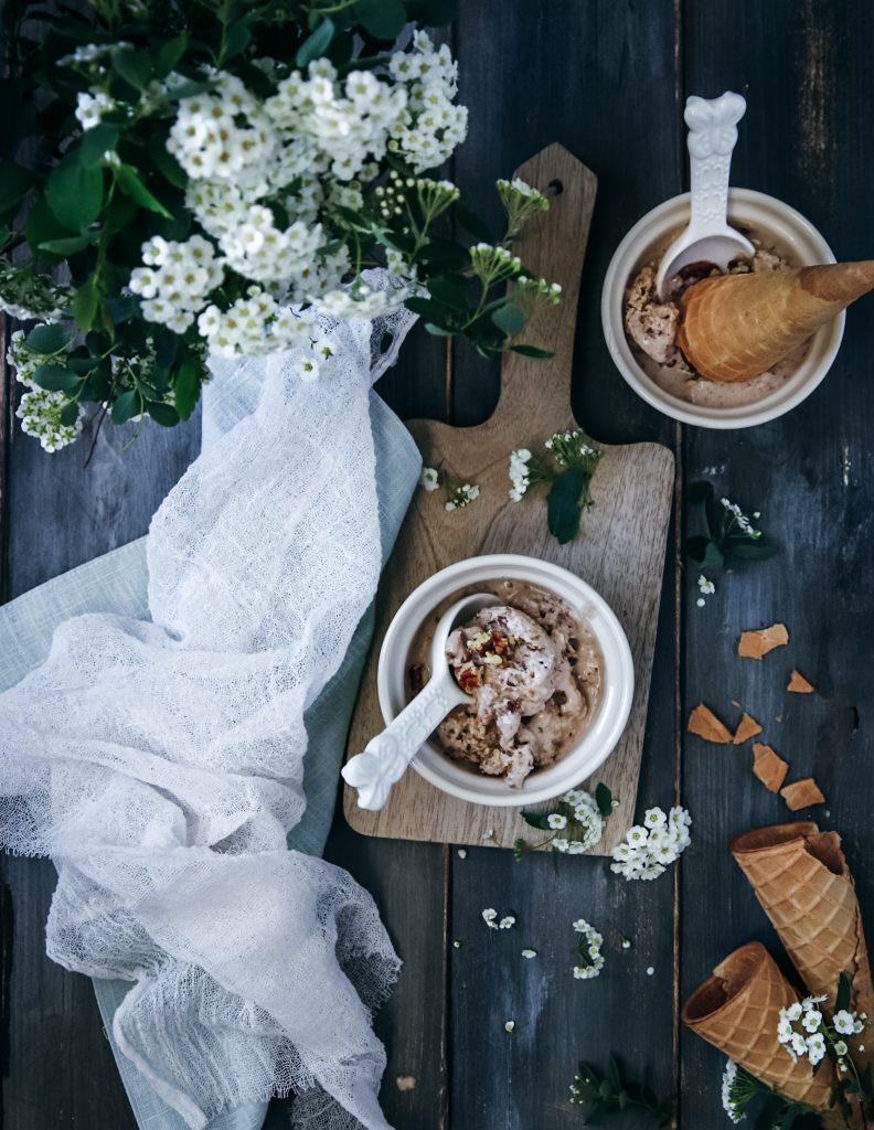 pekanová zmrzlina