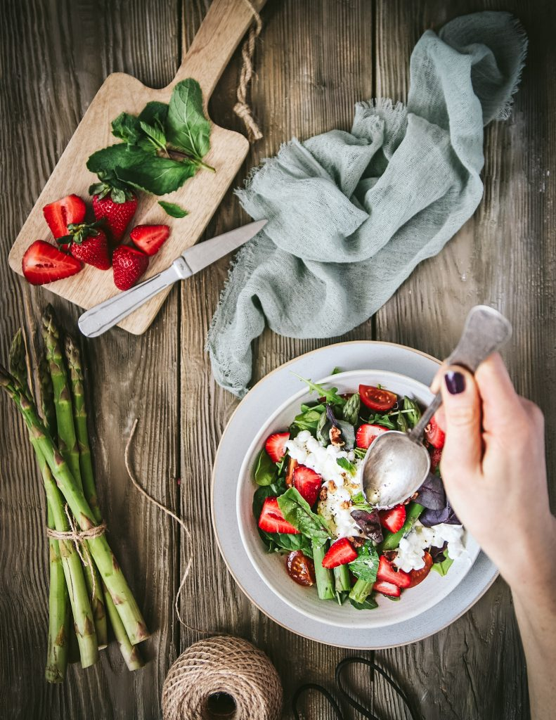 sparglovy salat