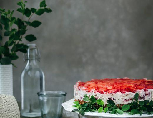 jahodová torta